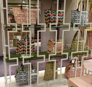 Orla Kiely display