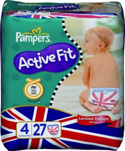 Pampers Olympics nappies
