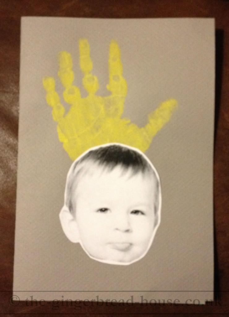 handprint crown