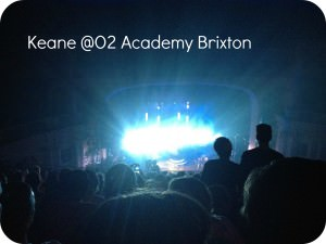 Keane at Brixton