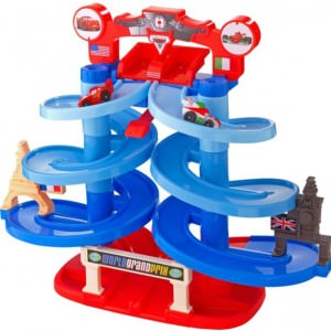 Fisher Price Cars  Spiral Speedway