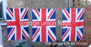 vintage union flags