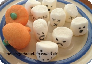 spooky marshmallows