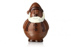 chocolate jolly santa from hotel chocolat