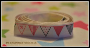 roll of fabric bunting tape