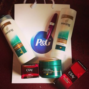 P&G goody bag