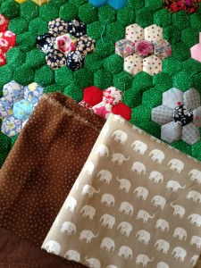 pretty patchwork fabric