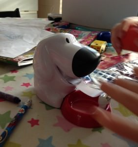 Scotch Magic Tape Dispenser Dog