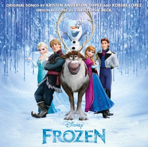 Disney Frozen album cover