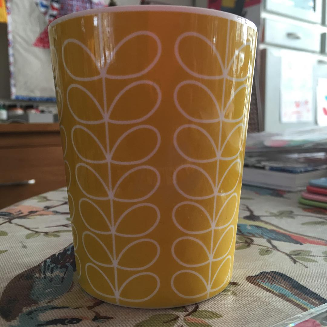 Love my new Orla Kiely beakers Continue reading rarr