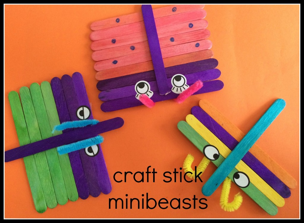 craft stick mini beasts
