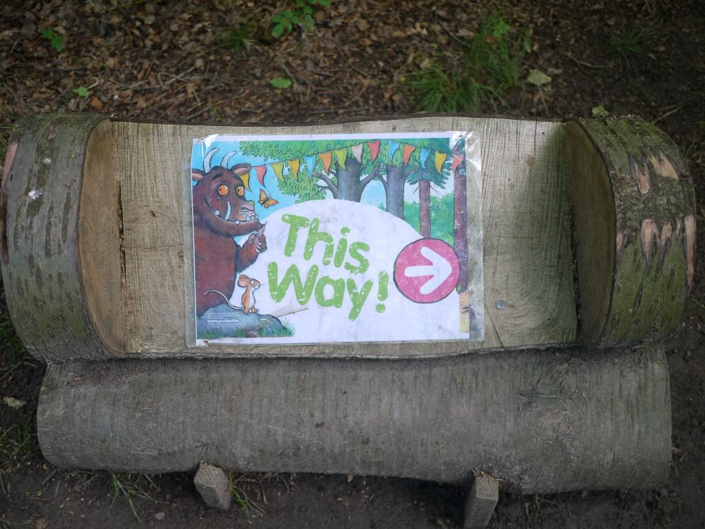 Gruffalo activity trail - the gingerbread house