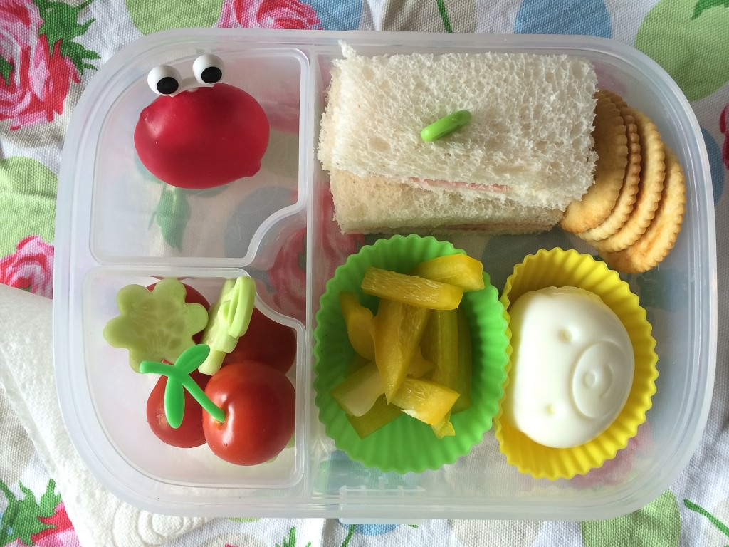 bento lunch - the gingerbread house