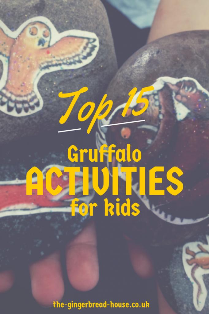 15 Gruffalo activities for kids