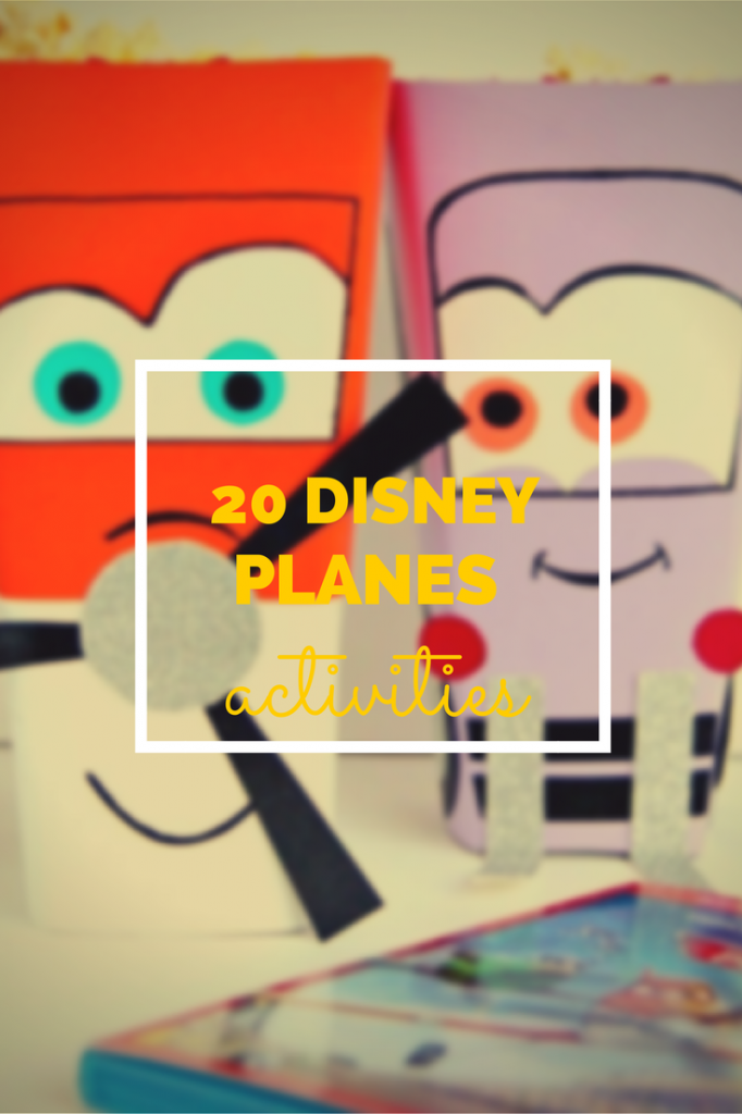 20 Disney Planes activities - the gingerbread house