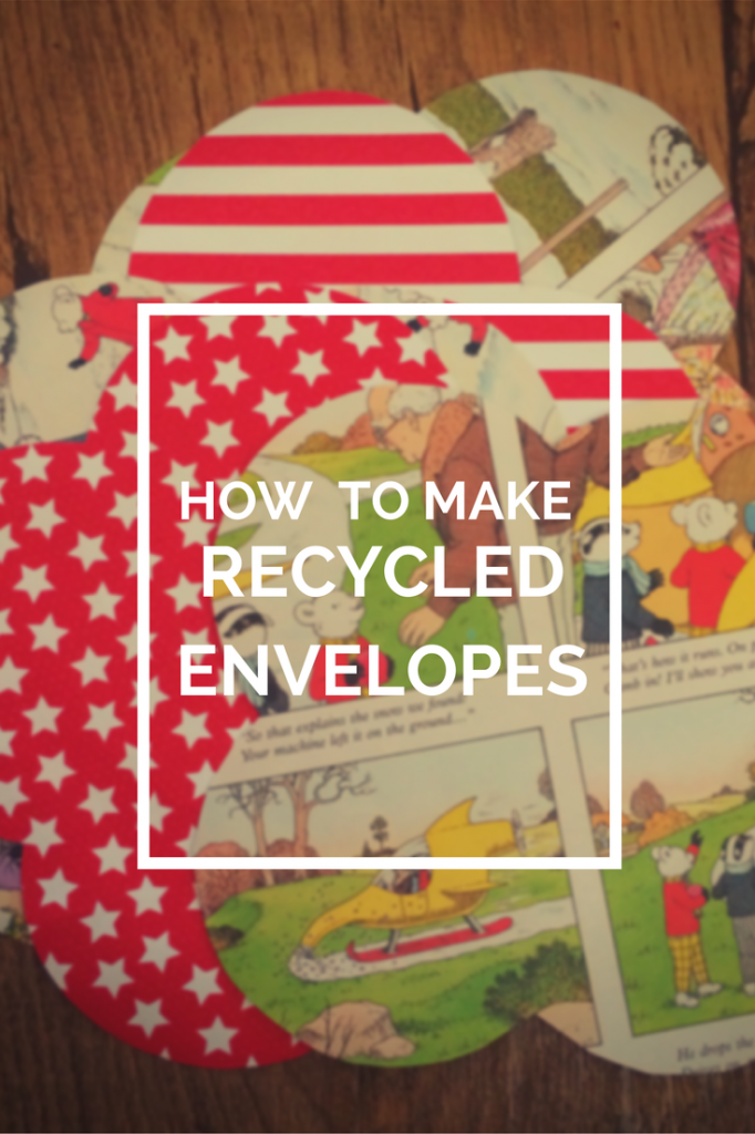 how to make recycled envelopes