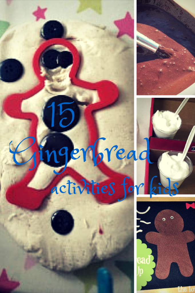 15 gingerbread activities for kids - the gingerbread house