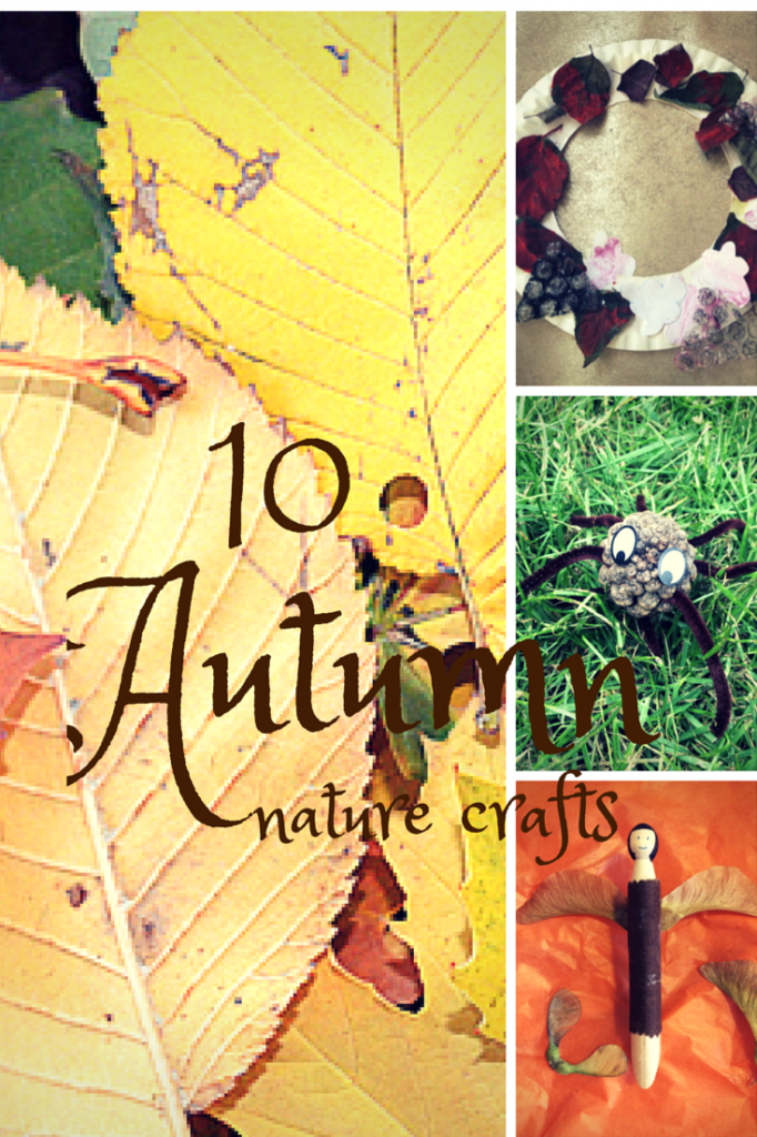 nature crafts for kids