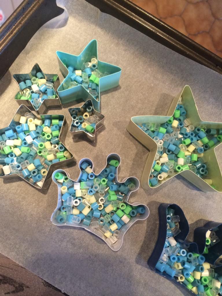 frozen hama beads