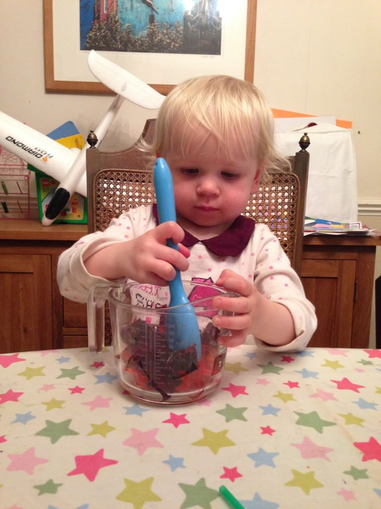 making jelly worms