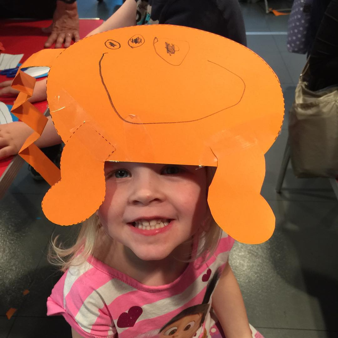 Crafty fun at the ltmuseum today ltmkids Continue reading rarr