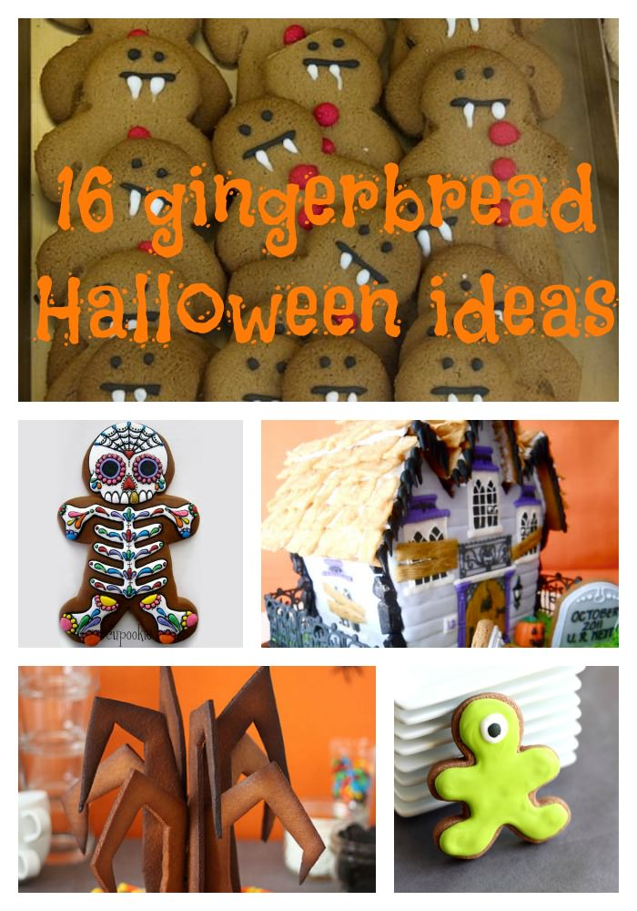 16 gingerbread Halloween ideas - the gingerbread house