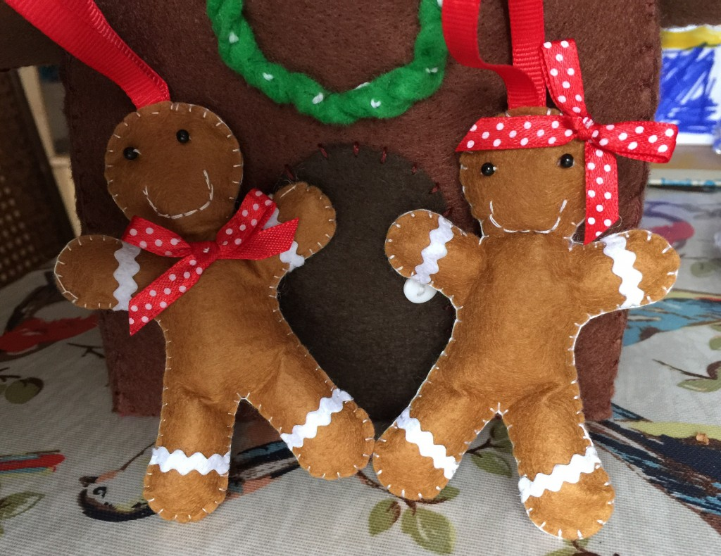 gingerbread people from Prima