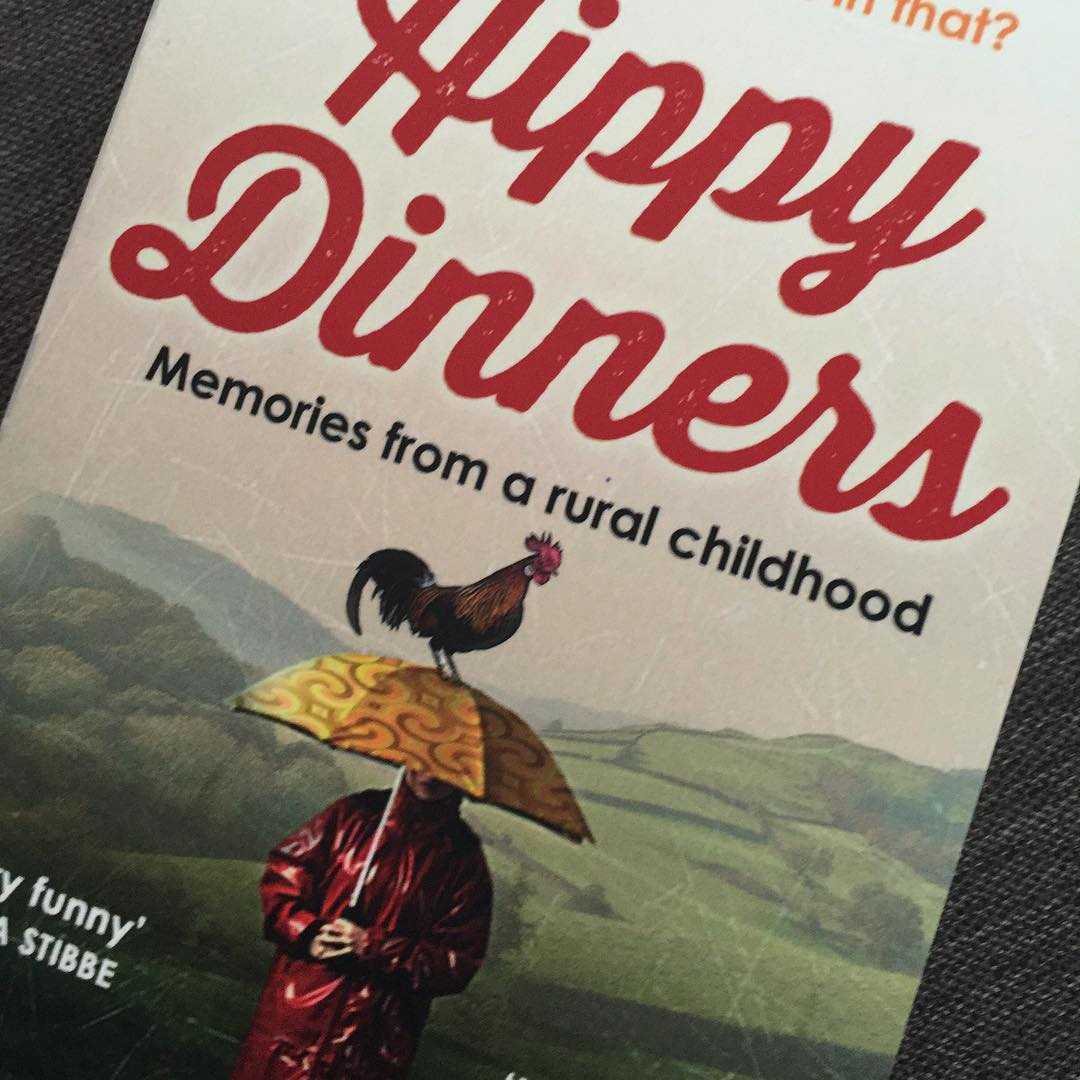 Excited to receive a copy of Hippy Dinners to readhellip