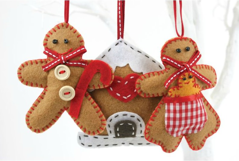 Win 2 X Make Your Own Gingerbread Decoration Kit The
