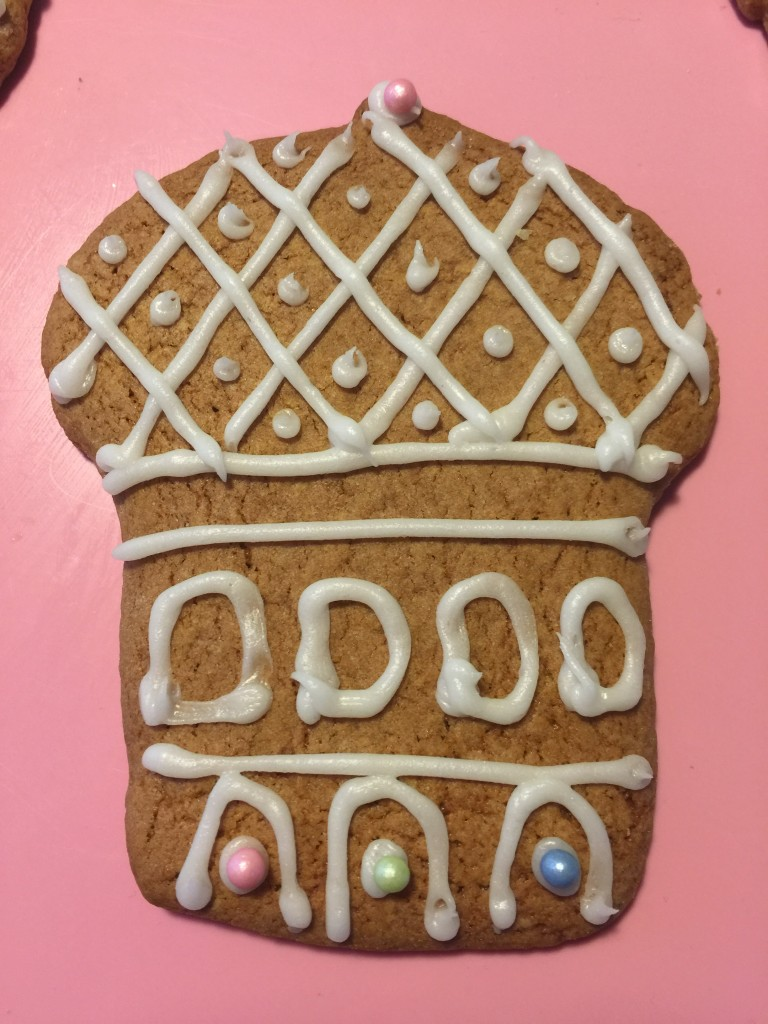 Three King biscuits for Epiphany