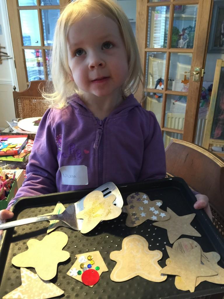easy cardboard cookies