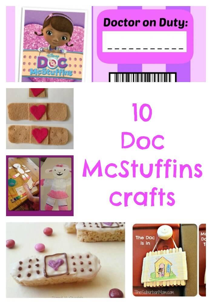 10 Doc McStuffins crafts