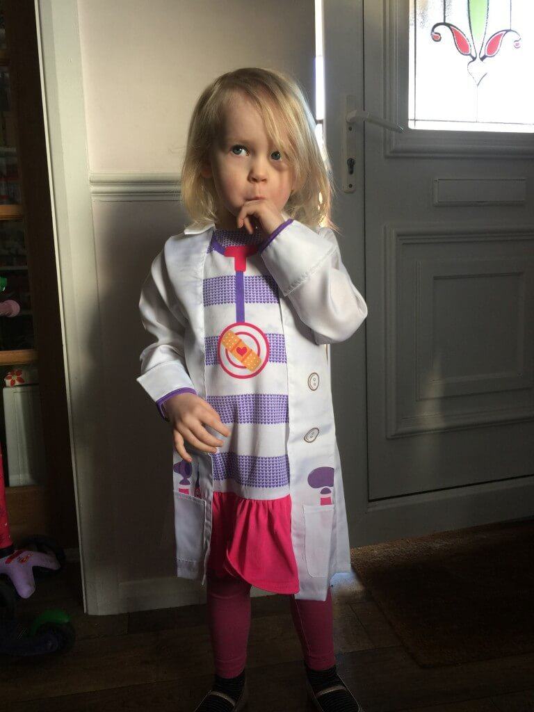 DocMcStuffins dress up outfit