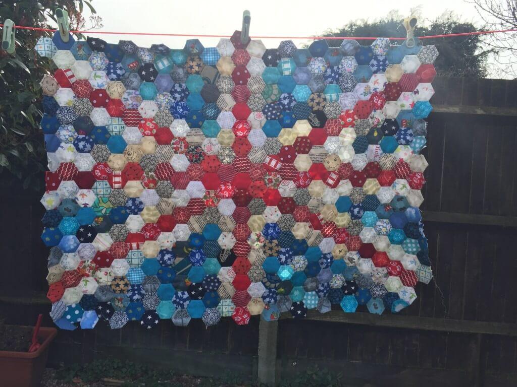 Union flag quilt