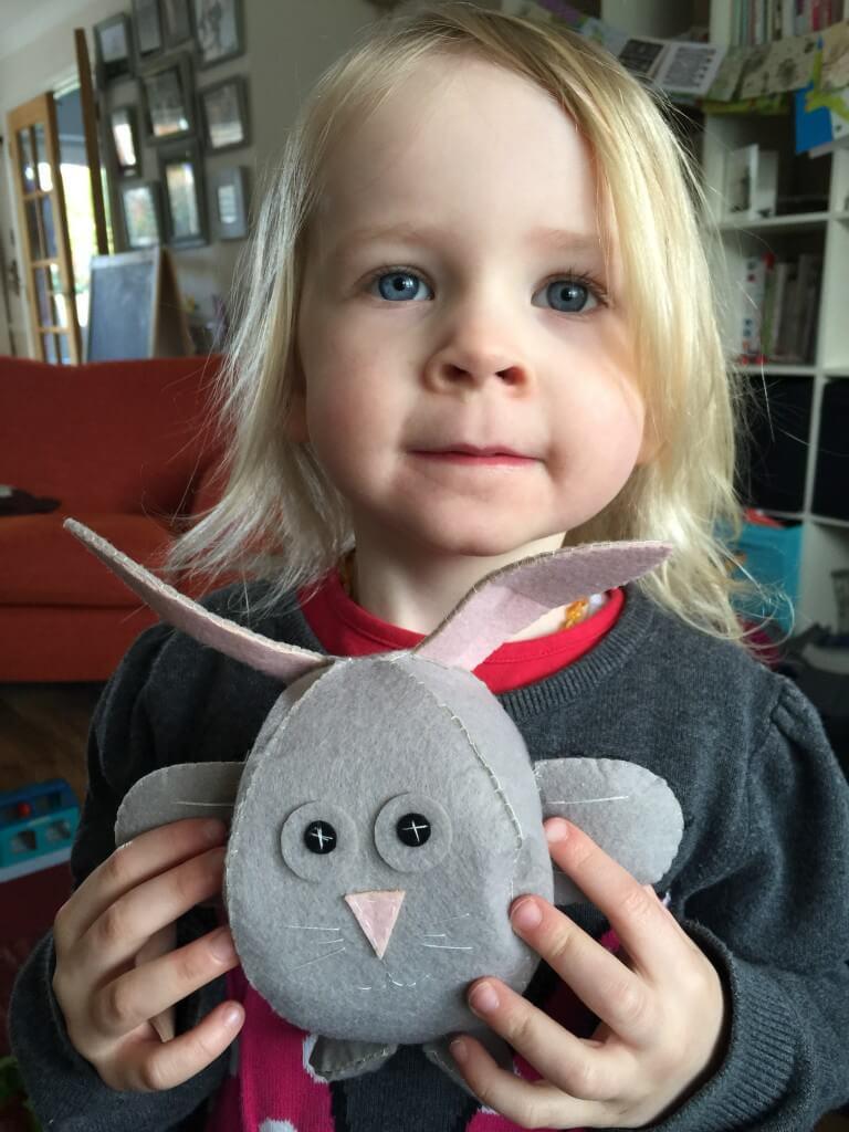 Hobbycraft Bunny Felt Sewing Kit
