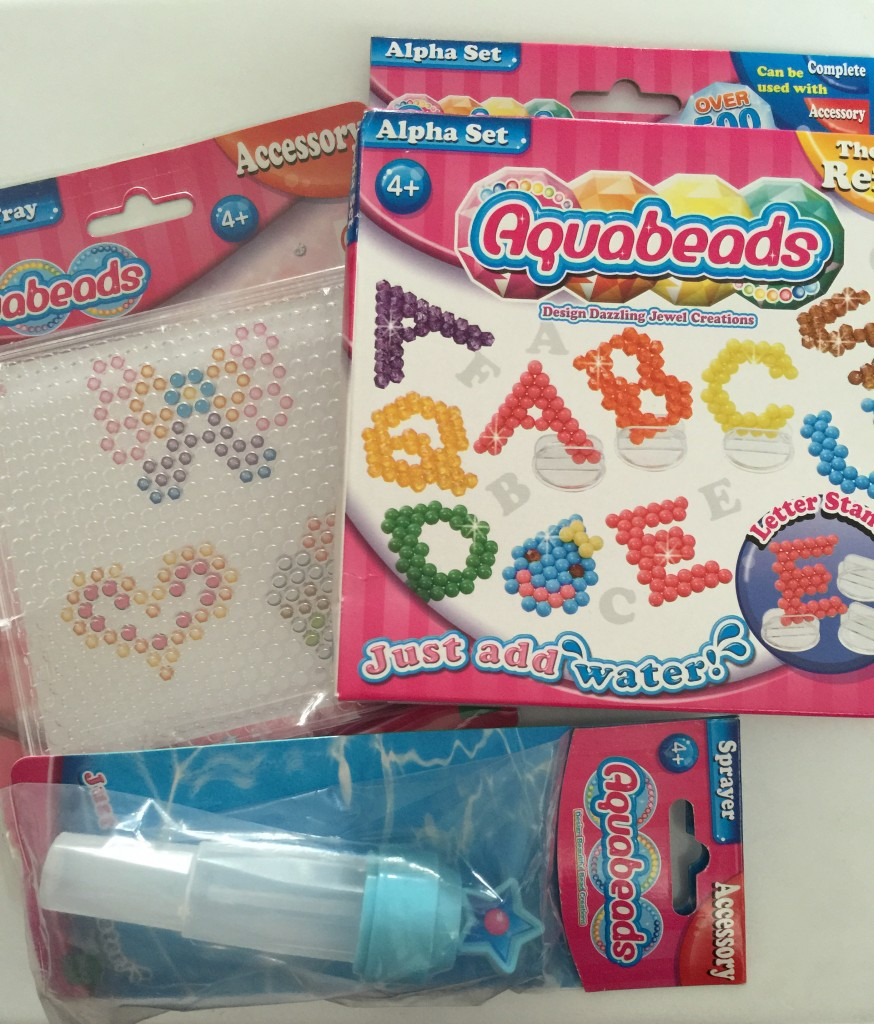 crafting with aquabeads