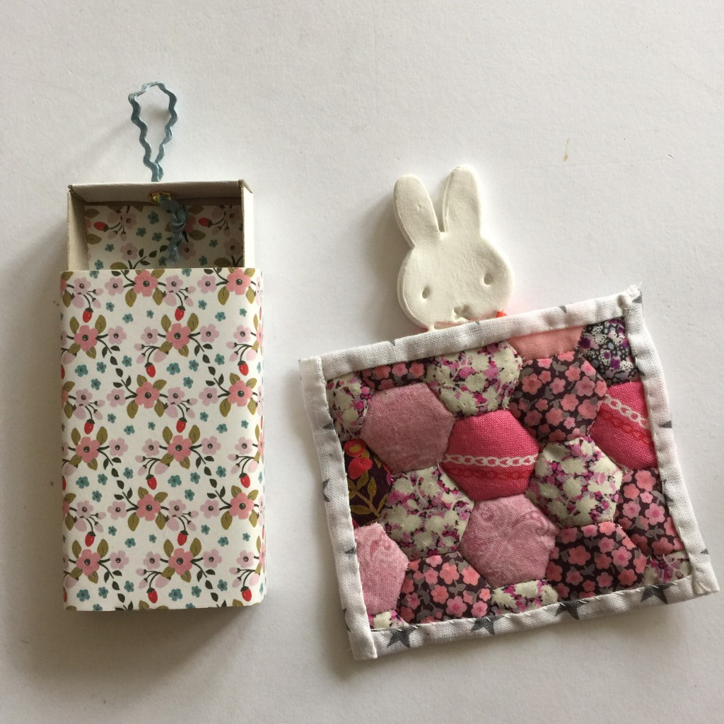 Miffy and a mini quilt