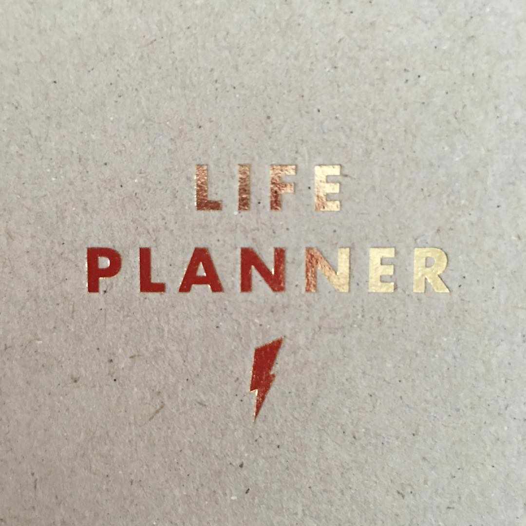 Dug out the sample life planner from blogtacular think itshellip