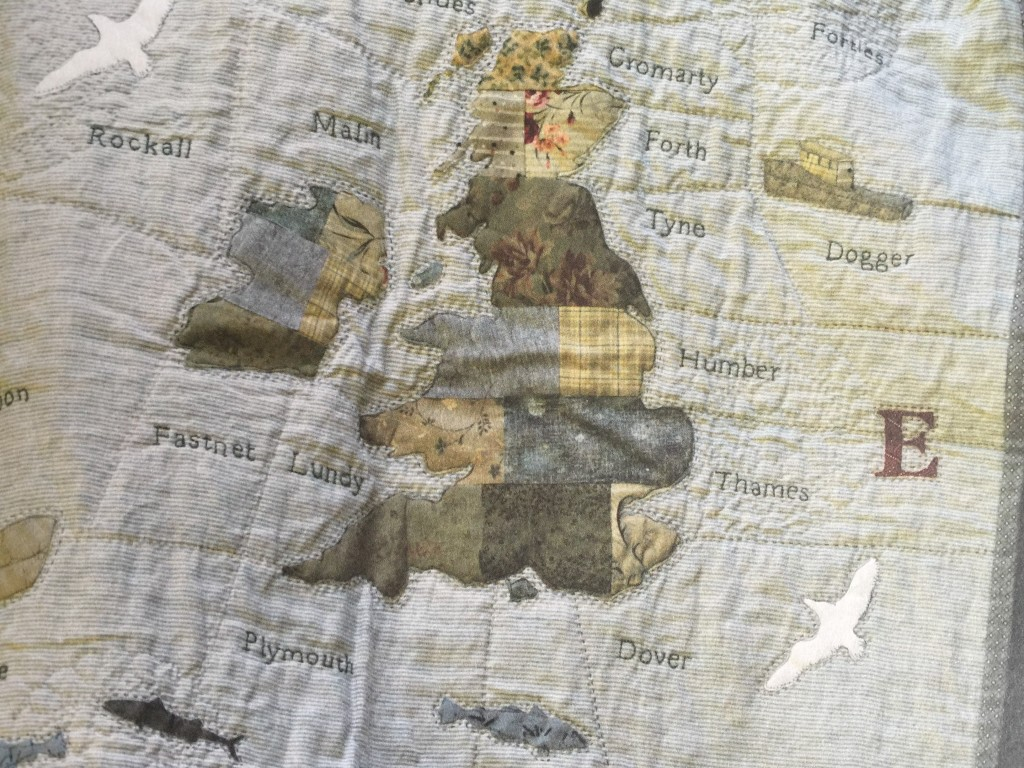 shipping forecast quilt
