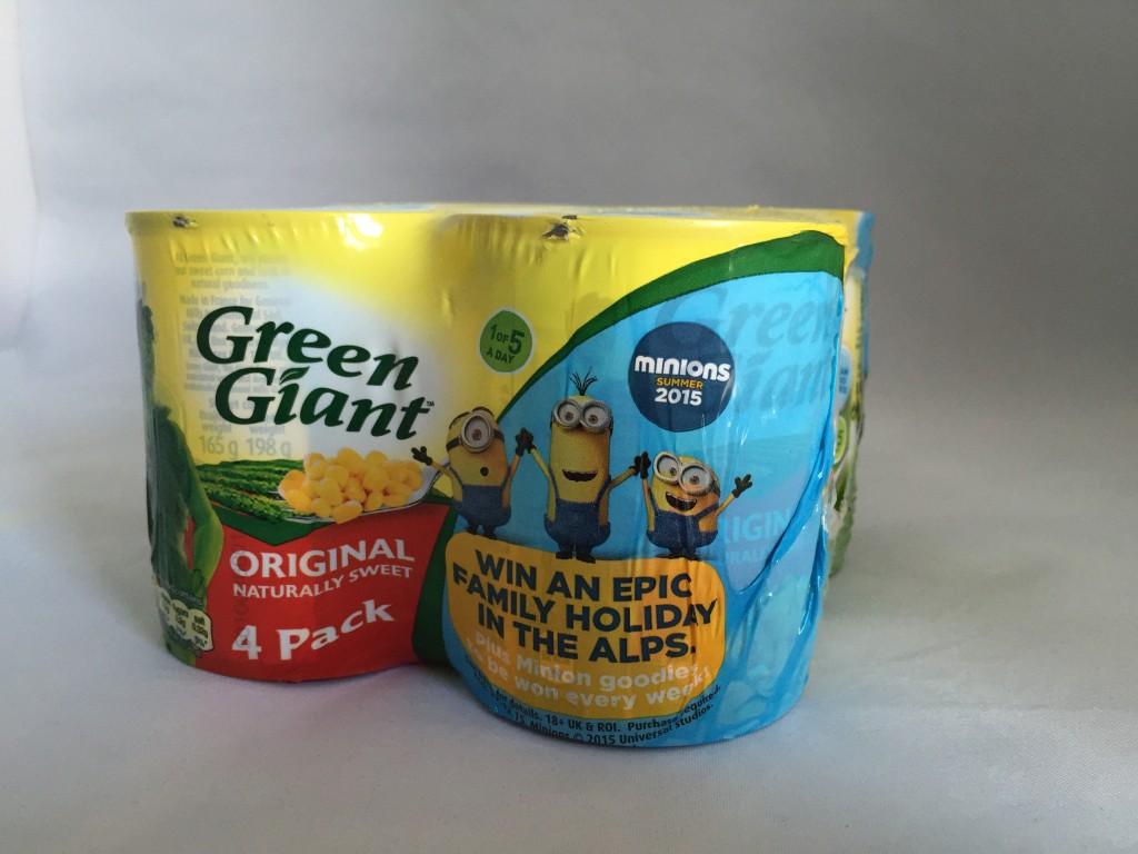 Green Giant Minion sweetcorn