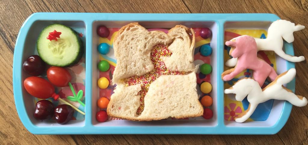 unicorn themed lunch
