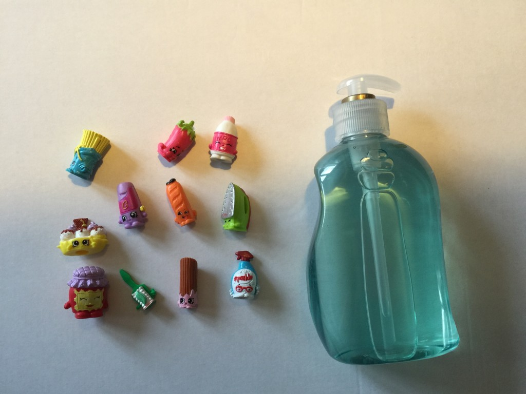 DIY shopkins soap dispenser - the gingerbread house