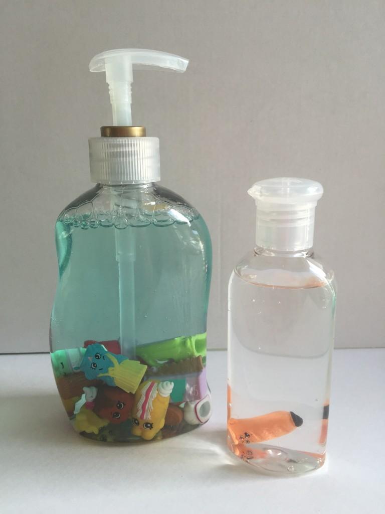 DIY shopkins soap dispenser