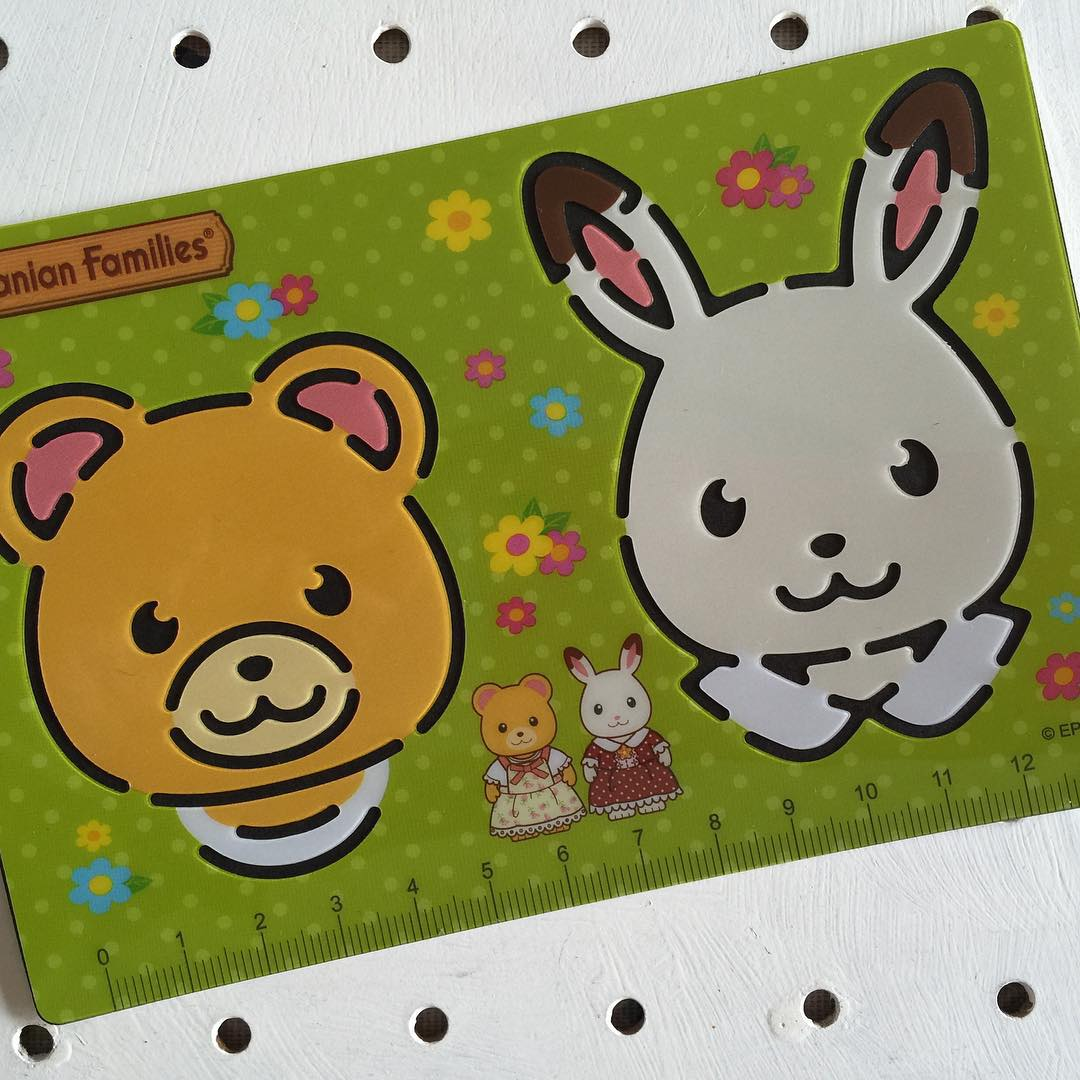 How adorable are these sylvanianfamiliesuk stencils? Continue reading rarr