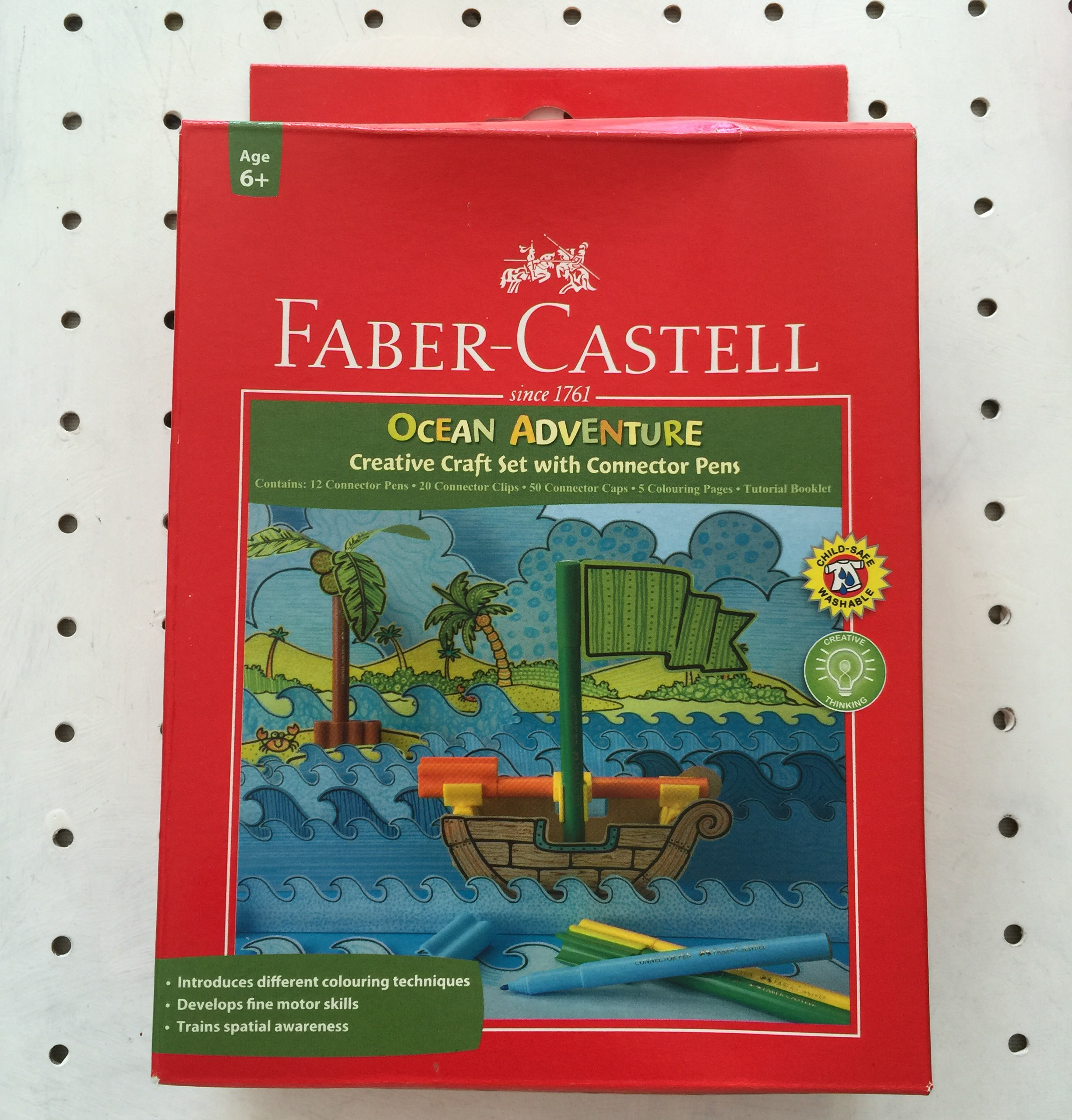 fabercastell creative craft set with connector pens  the