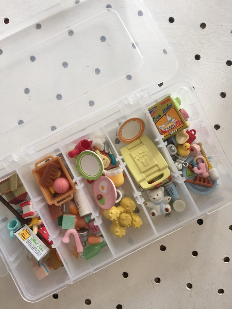 how to store Sylvanian Families toys