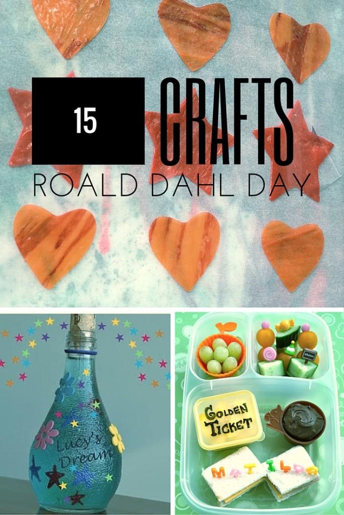 15 crafts for celebrating Roald Dahl Day
