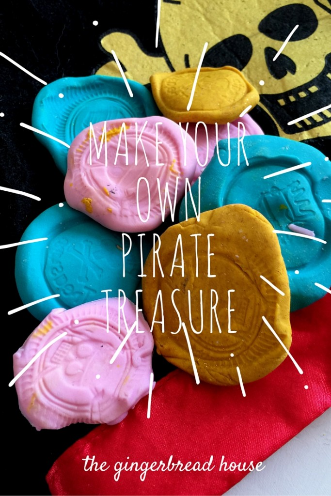 Make Your Own Pirate Treasure The Gingerbread
