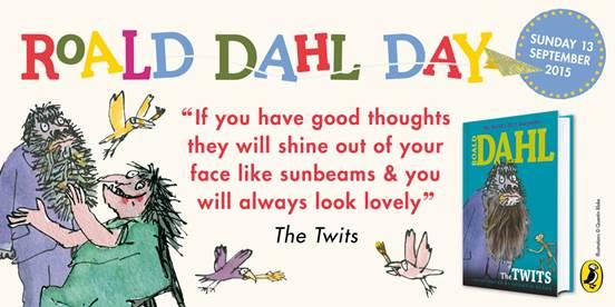 Roald Dahl Day logo