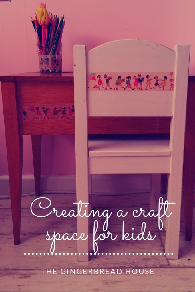 creating a craft space for kids